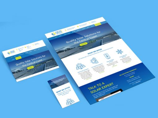 SEA Solutions Branding and Website Design