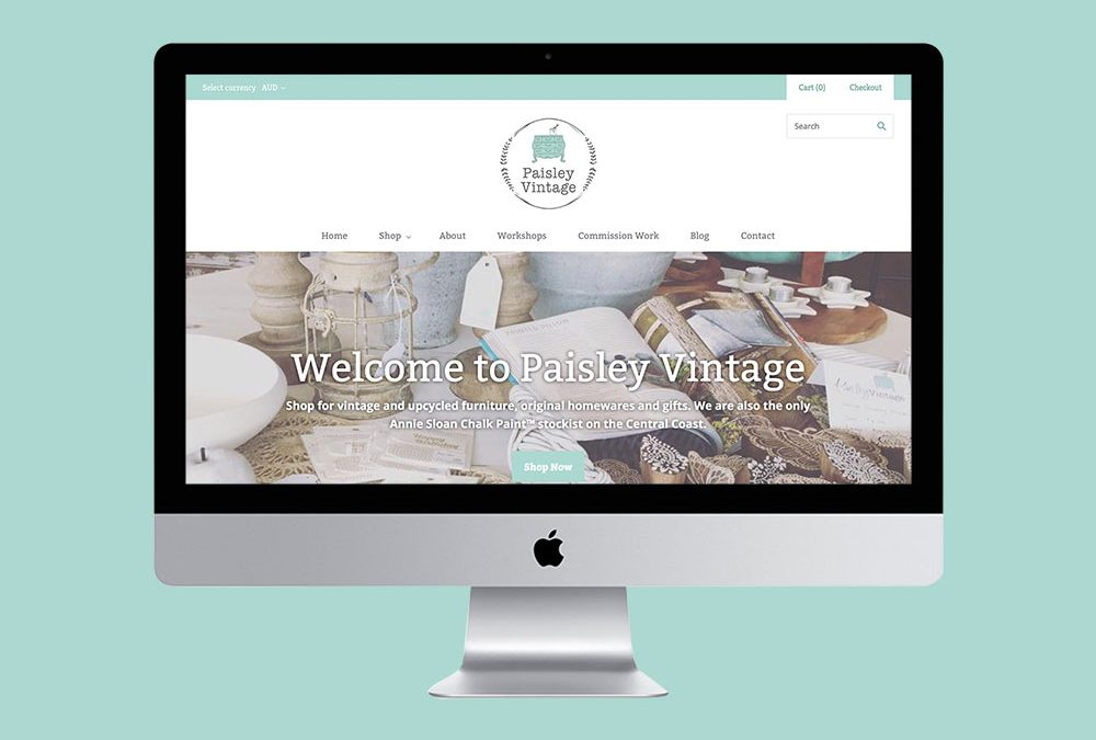 Paisley Vintage Online Store